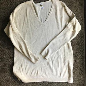 Cream Coloured Cotton Sweater from Lole